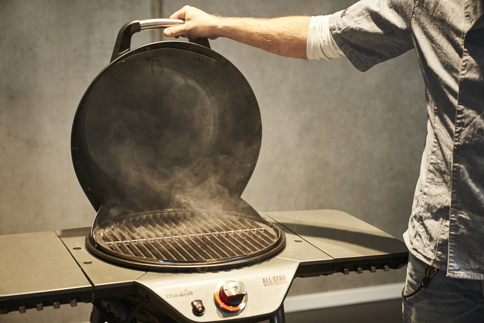 How do I prepare my new gas BBQ for first use?